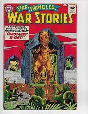 STAR SPANGLED WAR STORIES 108 - VG+ 4.5 - DINOSAUR COVER & STORY (1963)