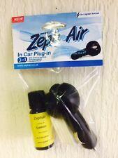 car plug in,10ml botle,lemon,essential oil,zephair,pads,air freshener