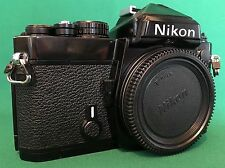 Nikon FE 35mm Film Camera 'Black' Body Only *NEW SEALS ALL ROUND*...VERY CLEAN!