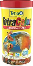 Te-tra Color Tropical Flakes with Natural Color Enhancer 2.8 oz