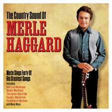 Merle Haggard - The Country Sound Of [Greatest Hits] 2CD NEW/SEALED