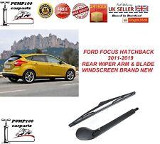 FORD FOCUS HATCHBACK MK3 2011-2019 REAR WIPER ARM & BLADE WINDSCREEN  BRAND NEW