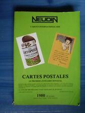 NEUDIN 1980 l'argus international des Cartes Postales