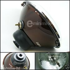 Classic Mini Single Halogen Headlight Lamp Conversion Kit 7inch H4 car rover
