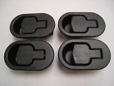 RECLINER SOFA AND RECLINER CHAIR REPLACEMENT BLACK PLASTIC HANDLES X 4 RH1
