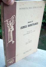 1964 CHIMICA DEGLI ALIMENTI. LEZIONI DEI PROFF. R. GIULIANO E M. L. STEIN
