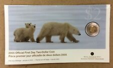 2005 Sealed First Day Royal Canadian Mint Two-Dollar Coin