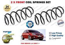 FOR FIAT BRAVO 198 1.4 + 16V 2007-->NEW 2X FRONT LEFT RIGHT COIL SPRINGS SET