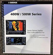 Garmin 400W/500W Series Optional Displays Pilot's Guide Addendum
