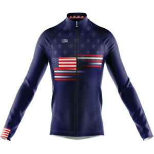 United States Long Sleeve Cycling Jersey