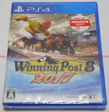 New PS4 Winning Post 8 2017 Japan F/S PlayStation 4 PLJM-80211 4988615096143