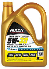 Box Of 3 Nulon Full Synthetic Long Life Engine Oil 5W30 5L SYND5W30-5