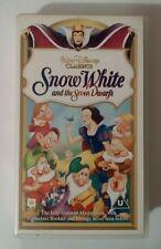 Snow White and the Seven Dwarfs VHS Video - Walt Disney