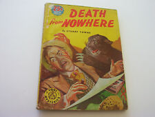 DEATH FROM NOWHERE   1940   STUART TOWNE  YOGI MYSTERIES #1   RARE CLASSIC