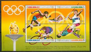 Hong Kong 1992 Olympic Games sheet SG MS 700 MNH mint   *COMBINED SHIPPING*