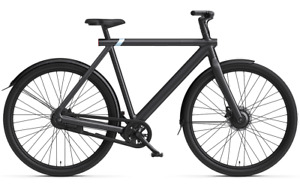 VanMoof S3 Electric Bike Unisex (Dark)  - Comes with Pannier Bag & Rear Carrier