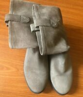Vince Camuto Tan Suede Ankle Boots Women's Sz 7.5