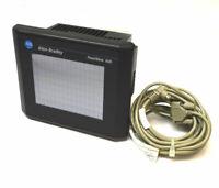 Allen Bradley 2711-T6C16L1 PanelView 600 Color Touch FRN:4.46 Op-Interface 24VDC