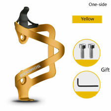 RockBros Bike Water Bottle Cage Bicycle Bottle Cage Holder Alloy One-Side Gold