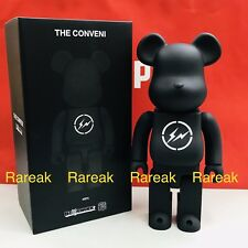 Medicom Bearbrick 2019 Fragment Design x The Conveni 400% Black Be@rbrick