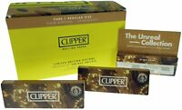 50 Pack Clipper Regular Size Pure  unbleached  Slow Burning Rolling Papers