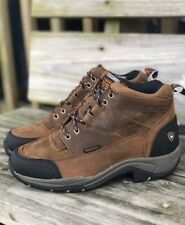 Ariat Women's Brown Terrain H2O Insulated Waterproof Work Shoes 10029503