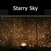 US Novelty Kid's Bedroom LED Night Light Projector Starry Sky Star Master Lamps