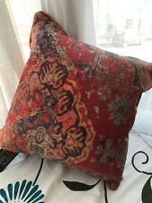 Terracotta Feather Filled Cushion Scatter Box Kabash 43cm x 43cm (952)