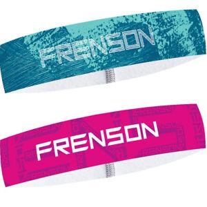 Headband FRENSON SPEEDMAX (Twin Pack) for orienteering Ocean blue, Purple