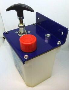 Large Bed Lubrication Hand Pump For Wadkin Planer Moulders