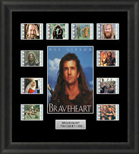 Braveheart Framed 35mm Film Cell Memorabilia Filmcells Movie Cell Presentation
