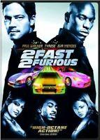 2 Fast 2 Furious DVD (Widescreen Edition) Paul Walker Tyrese Eva Mendes