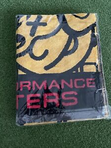 NEW  2021 Scotty Cameron Johnny Racer YELLOW RED Golf PLAYERS Towel Gallery