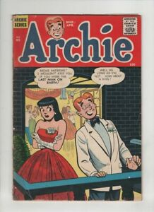ARCHIE #85 G/VG, angry Veronica cover, Betty, Jughead, Reggie, 1957 nice colors