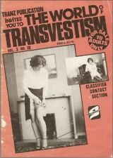 The World of Transvestism - Vol 3 - N° 10 - Magazine Vintage en Langue Anglaise.