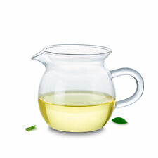 1x 265ml Heat Resistant Clear Glass Tea Pitcher Fair mug Cha hai Gongdao Tea Cup