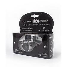 FLASH BACK VINTAGE DESIGN  DISPOSABLE CAMERA  WITH FLASH 24 EXP. 200 ISO