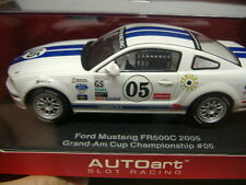 AUTOART 13721 ANALOGICO AUTO PISTA SLOTCAR FORD MUSTANG FR 500 C 1:3 2