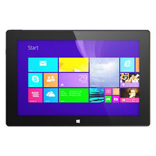 "Hipstreet W10 PRO WINDOWS 8.1 10"" Tablet PC 32gb 2GB RAM Quad Core HDMI MORADO"