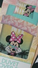 DISNEY MINNIE MOUSE SINGLE DUVET SET QUILT COVER SOLD OUT PRIMARK GIRLS BEDDING