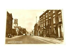 Dodington, Whitchurch Valentine & Sons London RP Postcard