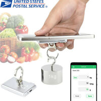 Portable Mobile Mini Phone Holder Kitchen Bluetooth Scales Electronic Scale Food