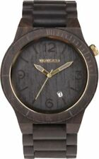 WeWood Alpha Wood Black Gold Watch Organic Wooden Natural New Authentic!!!