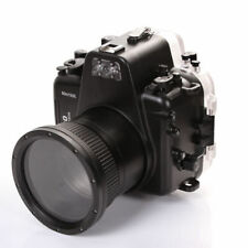 MeiKon 60m Underwater Waterproof Photo Housing Case Cover for Nikon D800 Camera