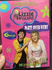 Lizzie McGuire - Party Over Here region 4 DVD (kids tv series)