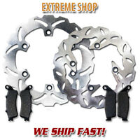 Honda F+R Brake Rotor+Pads FSC/FJS 600 A Silverwing ABS(03-11) D Non ABS (07-10)