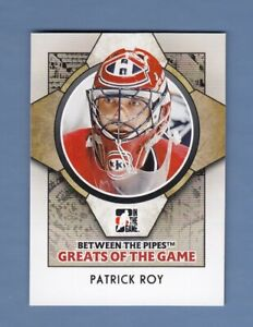2009 ITG Between The Pipes Greats of the Game #88 - Patrick Roy HOF [VM100]
