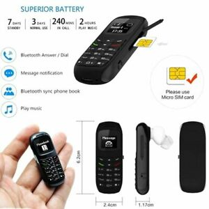 Brand New BM70 L8Star Smallest Mini Mobile Phone Bluetooth Dialer Headset