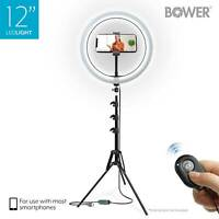 Bower WA-SL12 12inches LED Selfie Ring Studio Light