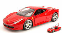Model Car Scale 1:24 Burago Ferrari 458 Italy diecast vehicles road